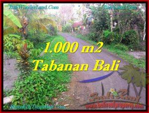TANAH DIJUAL MURAH di TABANAN TJTB242