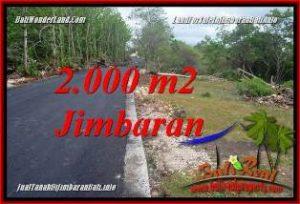 JUAL TANAH di JIMBARAN 2,000 m2  LINGKUNGAN VILLA