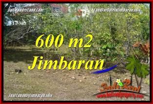 TANAH MURAH di JIMBARAN JUAL 600 m2 LINGKUNGAN VILLA & HOTEL