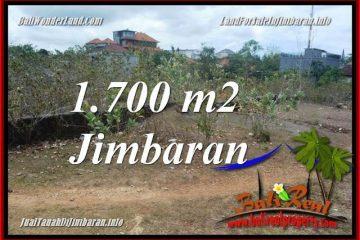 JUAL TANAH di JIMBARAN 1,700 m2 di JIMBARAN UNGASAN