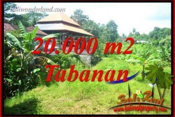Tanah Murah di Tabanan Bali Dijual Untuk Investasi TJTB418