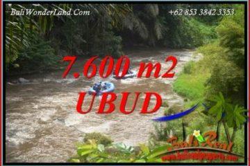 Tanah Murah di Ubud jual 76 Are View sawah dan sungai ayung