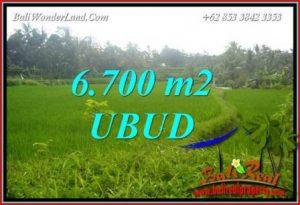 JUAL Murah Tanah di Ubud 67 Are View sawah lingk. villa