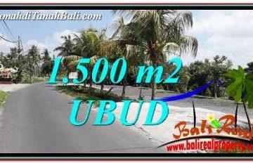 JUAL MURAH TANAH di UBUD BALI 15 Are di Ubud Gianyar