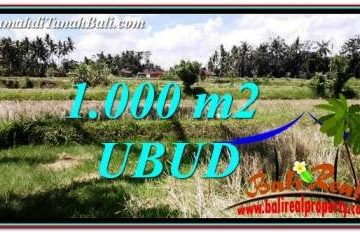 DIJUAL TANAH MURAH di UBUD BALI TJUB760